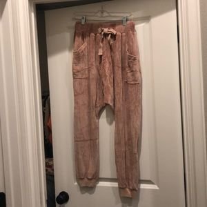 NWOT free people joggers